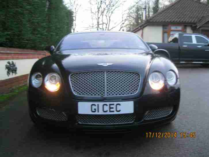 2004 BENTLEY CONTINENTAL GT AUTO BLUE 1 OWNER LOW MILEAGE