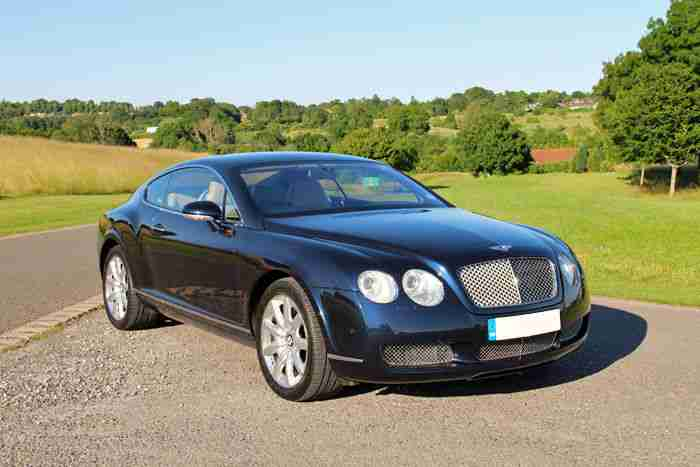 bentley 2004 continental gt auto blue car for sale. Black Bedroom Furniture Sets. Home Design Ideas