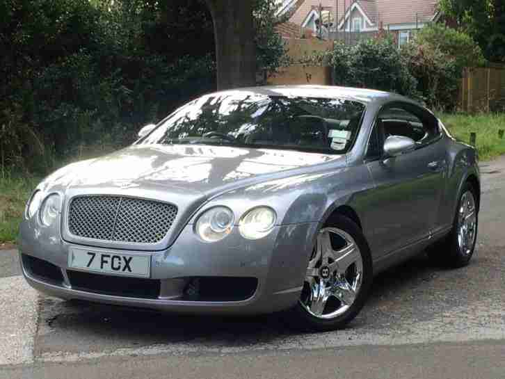bentley 2004 continental gt auto silver swap px car for sale. Black Bedroom Furniture Sets. Home Design Ideas