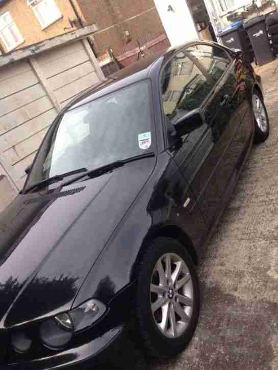 2004 BMW 316TI ES COMPACT BLACK 5SPEED MANUAL PETROL 100000MILES FULL HISTORY