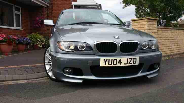 BMW 2004 318 M SPORT CONVERTIBLE AUTO 12 MONTHS MOT PX WELCOME CAT