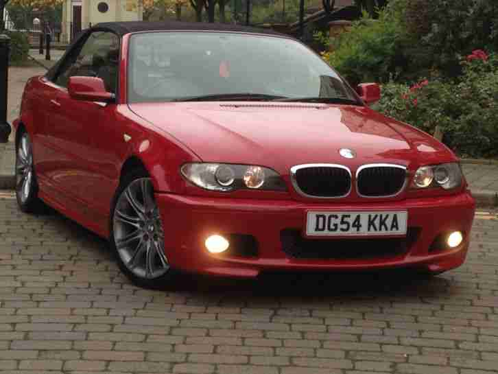 2004 318CI SPORT CONVERTIBLE RED NO