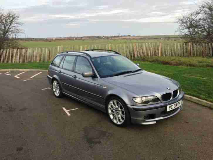 bmw 2004 318i m sport touring estate grey m sport 318 petrol 2 0. Black Bedroom Furniture Sets. Home Design Ideas