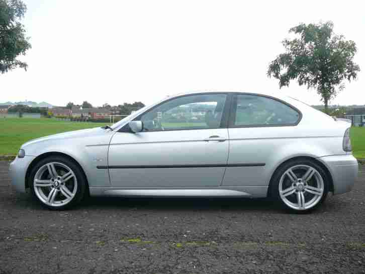 bmw 2004 320td es compact silver miles car for sale. Black Bedroom Furniture Sets. Home Design Ideas