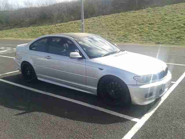 BMW 330CD. BMW car from United Kingdom