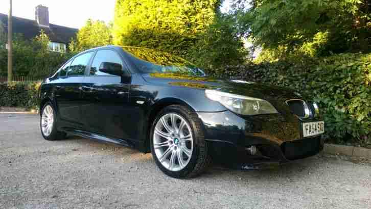 BMW 2004 530D M SPORT BLACK 6 SPEED MANUAL 215 BHP DIESEL TOP SPEC I