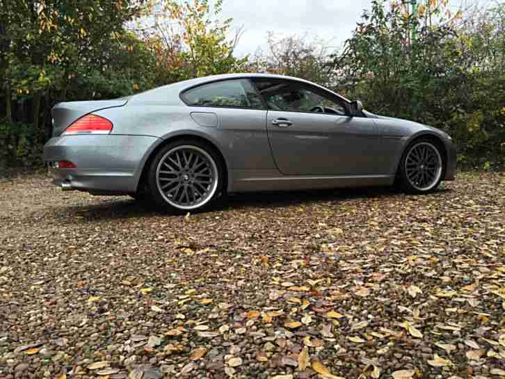 "2004 BMW 645 CI AUTO ONE OFF AUTOVOGUE UNIQUE 20"" SPLIT RIM MUST SEE! NO RESERVE"