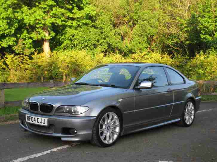 BMW 2004 E46 330CD M SPORT COUPE AUTO LOW MILES FSH SUPERB SPEC