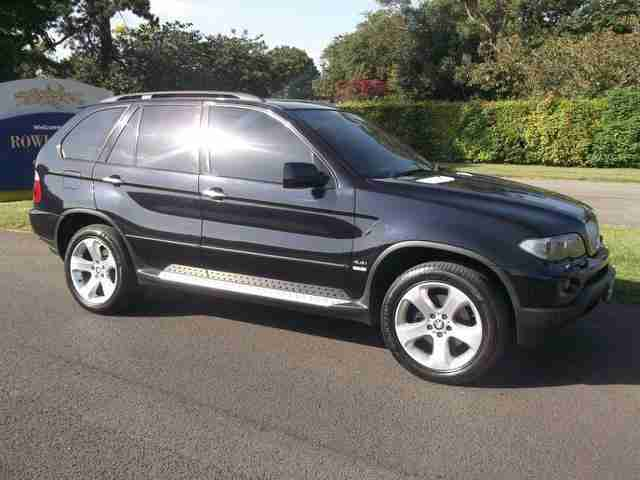 2004 BMW X5 SPORT 4.4 V8 AUTO BLACK FACELIFT MODEL