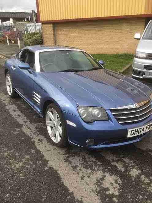 Chrysler CROSSFIRE. Chrysler car from United Kingdom
