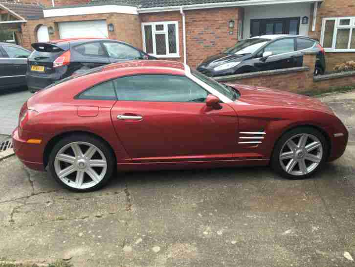 2004 CROSSFIRE AUTO RED