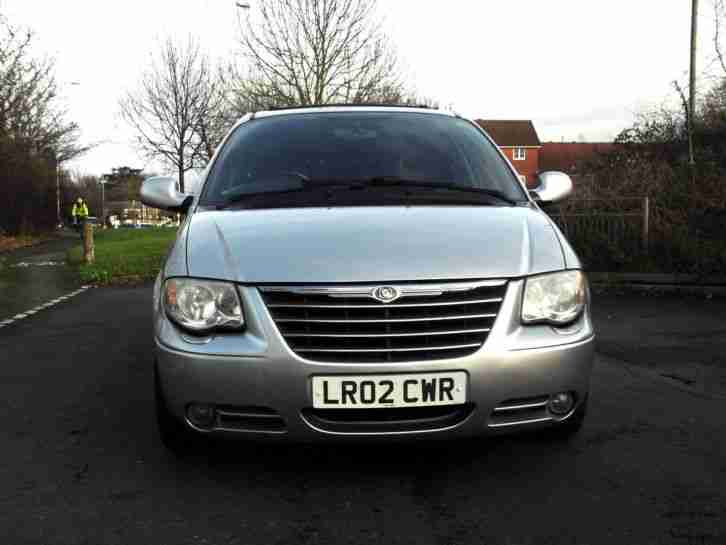 2004 CHRYSLER GRAND VOYAGER 2.8 CRD TURBO DIESEL AUTOMATIC LIMITED PX SWAP