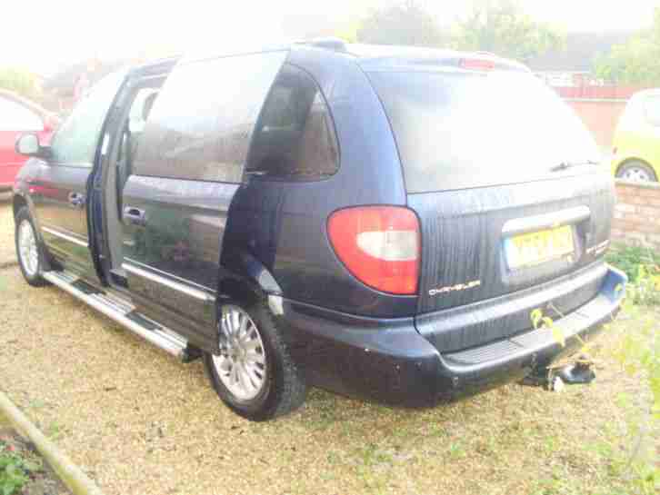 2004 CHRYSLER GRAND VOYAGER CRD LIMITED BLUE