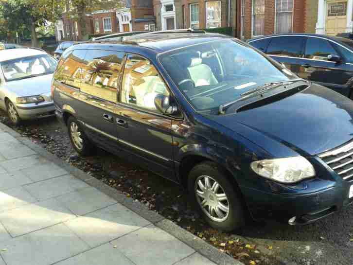 2004 CHRYSLER GRAND VOYAGER LTD XS CRDA BLUE