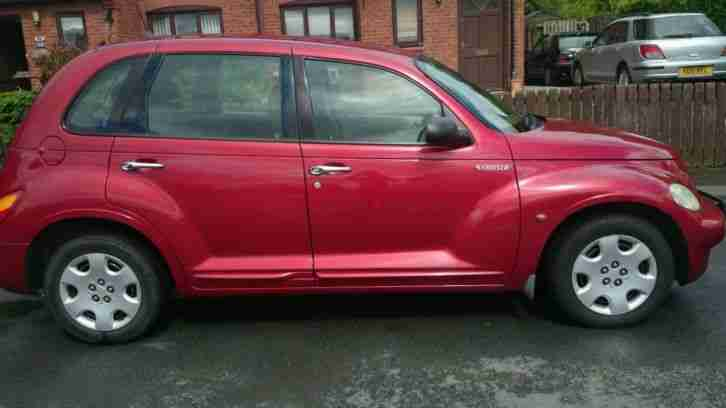 2004 CHRYSLER PT CRUISER CLASSIC CRD RED