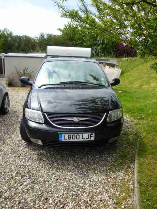 2004 CHRYSLER VOYAGER CRD LX BLACK