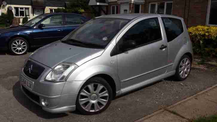 citroen 2004 c2 vts silver not saxo vtr clio 172 182 sport fiesta. Black Bedroom Furniture Sets. Home Design Ideas