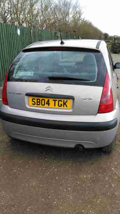 2004 CITROEN C3 LX 1.3 12 mouths mot