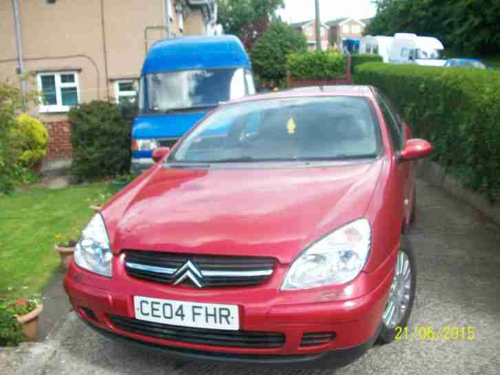 2004 C5 HDI EXCLUSIVE AUTO RED SPARES