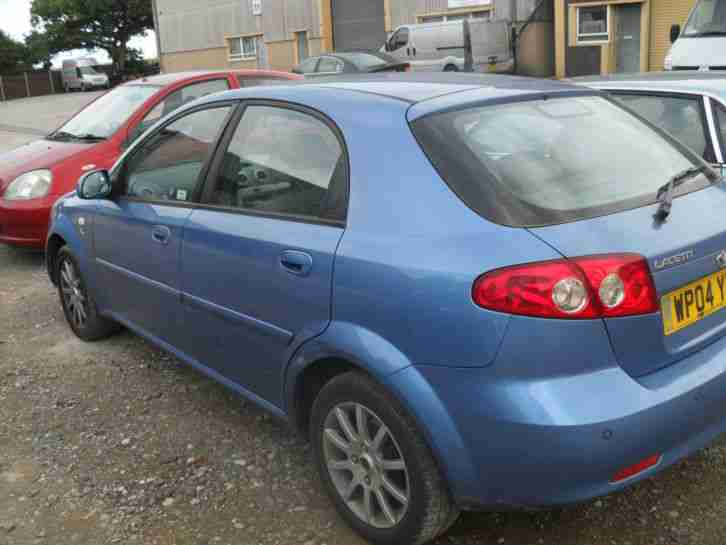 2004 DAEWOO LACETTI 1.6 5 door SX 9 month mot 60000 mls part ex to clear bargain