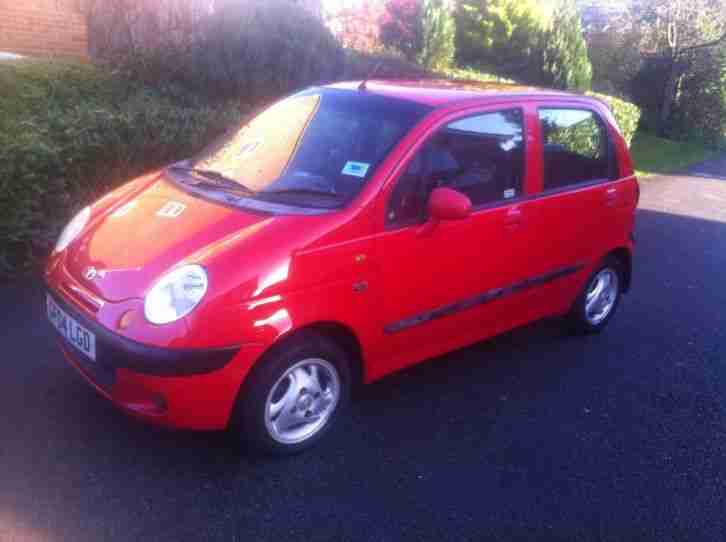 Daewoo 2004 MATIZ SE+ RED Super cheap Car, only 33000 miles and 1