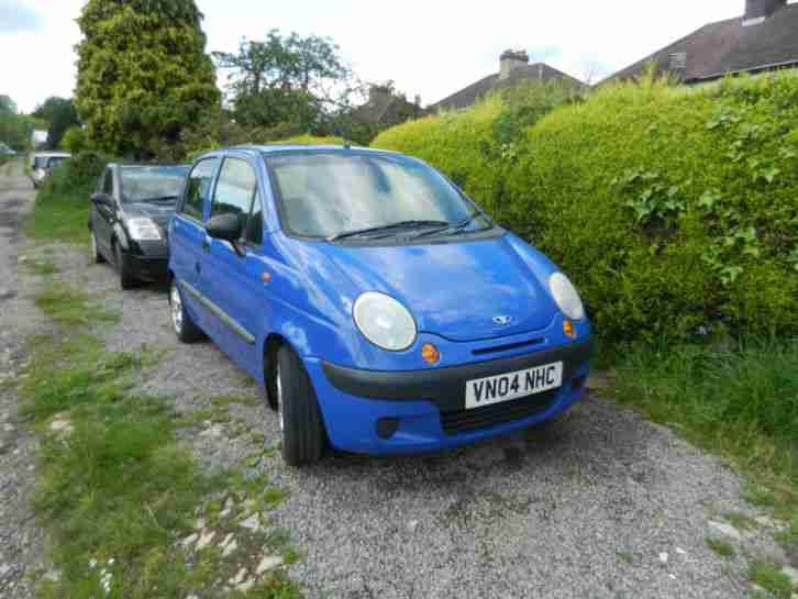 daewoo 2004 matiz xtra blue car for sale. Black Bedroom Furniture Sets. Home Design Ideas
