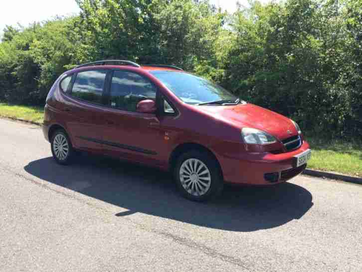 2004 TACUMA 1.6 SE RED APRIL 2016 MOT