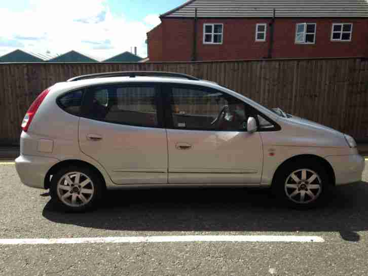 daewoo 2004 tacuma cdx silver low mileage cheap car tamworth car for sale. Black Bedroom Furniture Sets. Home Design Ideas