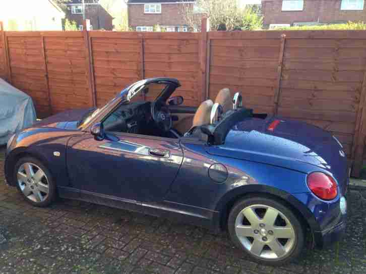 2004 COPEN CONVERTIBLE Blue with Tan