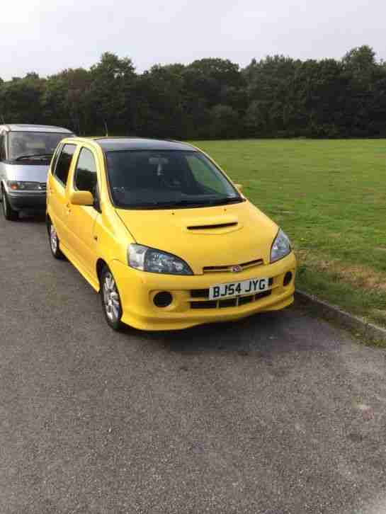 Daihatsu 2004 Yrv Turbo 130 Auto Tiptronic Yellow 11 Months Mot Great