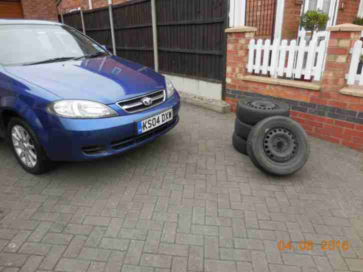 2004 Daewoo Lacetti 1.6 SX. Cambelt kit done 2013. Winter Wheels/Tyres included