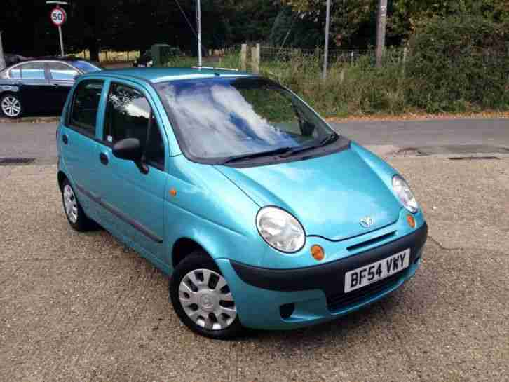 2004 Matiz 1.0 Xtra Cool 5 Door Blue