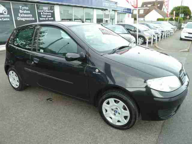 Fiat PUNTO. Fiat car from United Kingdom