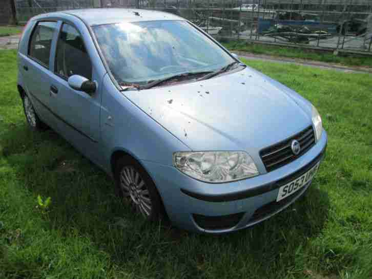 2004 PUNTO DYNAMIC MULTIJET BLUE