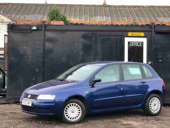 2004 FIAT STILO 1.4L 5 DOOR + LOW 45K MILES + SAME ENGINE AS GRANDE PUNTO