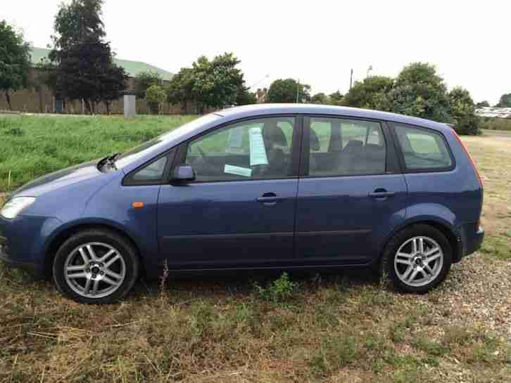 ford 2004 focus c max zetec blue car for sale. Black Bedroom Furniture Sets. Home Design Ideas