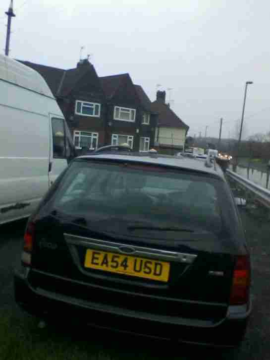 2004 FORD FOCUS GHIA TDCI BLACK