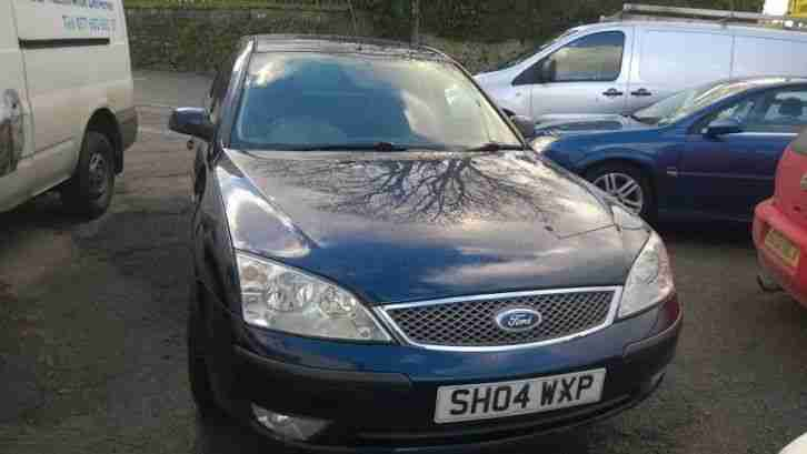 2004 FORD MONDEO ZETEC BLUE only 77,000 miles, new mot, engine rebuild 7 months