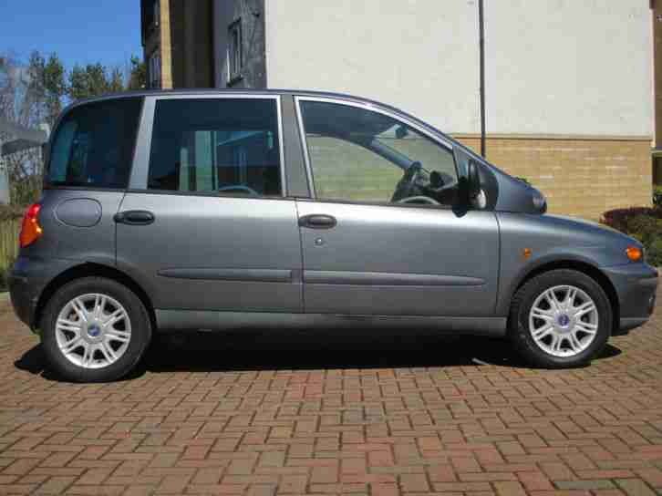 Fiat 2004 Multipla 1910cc Diesel 6 Seater Estate Mpv Car