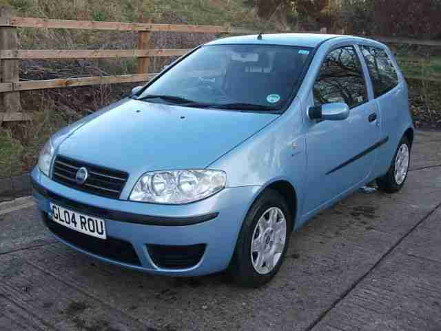 fiat 2004 punto 1 3jtd 16v multijet dynamic blue years mot car for sale. Black Bedroom Furniture Sets. Home Design Ideas