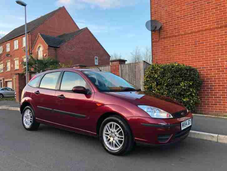 2004 Ford Focus 1.6i Low Miles 58,000 Service History 2 Keys
