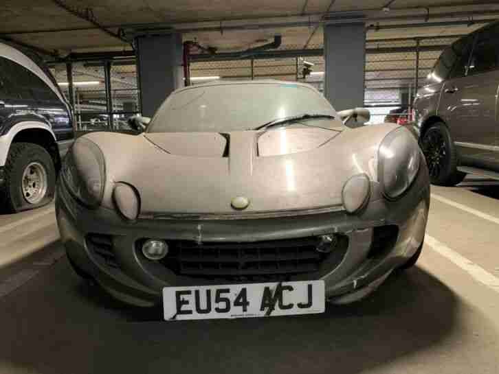 2004 Grey Lotus Elise 111S Abandoned Vehicle
