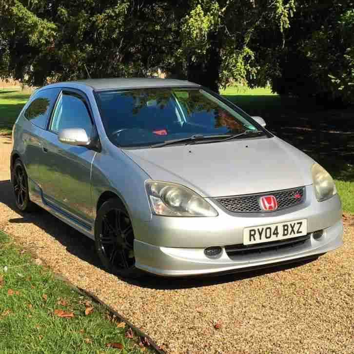 honda 2004 civic type r silver car for sale. Black Bedroom Furniture Sets. Home Design Ideas