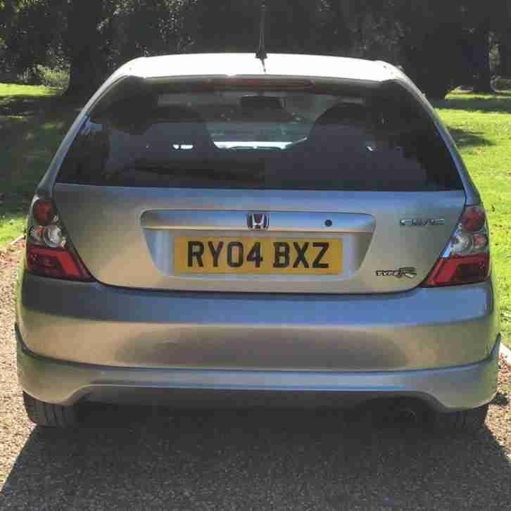 Hyundai Civic For Sale: Honda 2004 CIVIC TYPE R SILVER. Car For Sale