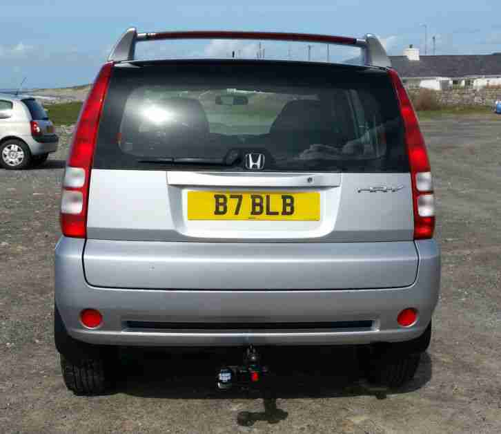 2004 HONDA HR-V VTEC 4WD SILVER LONG MOT LOW MILLAGE 72000 RECENTLY SERVICED