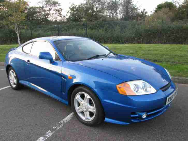 Hyundai COUPE. Hyundai car from United Kingdom