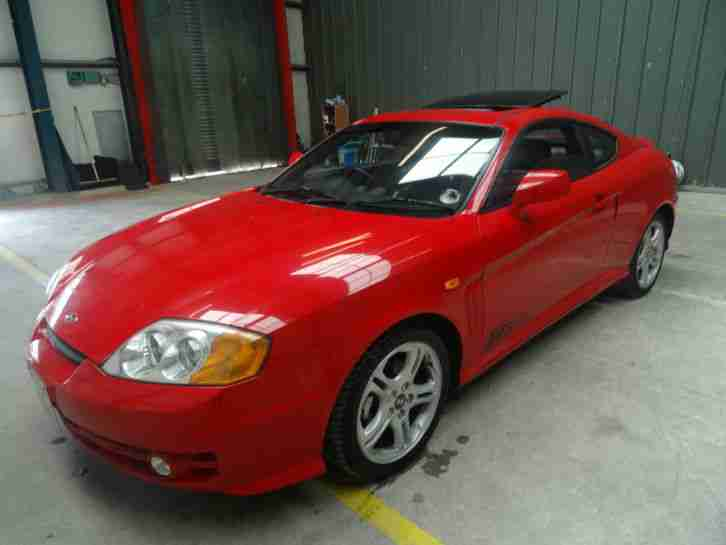 2004 COUPE SE RED 2.0 PETROL 3 DOOR