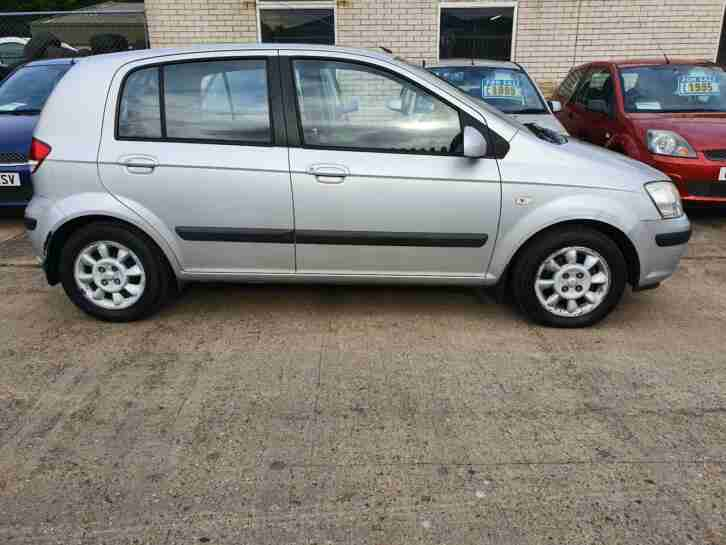 2004 HYUNDAI GETZ 1.6 CDX AUTOMATIC 5 DOOR 88K MOT JAN