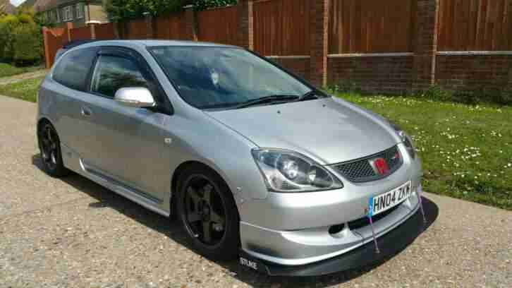 2004 Civic Type R, Silver, Facelift,