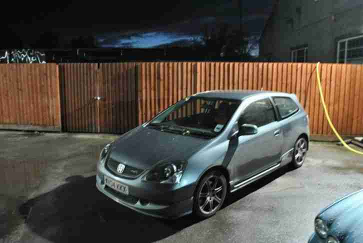 2004 Honda Type R 2.0 I-VTEC Grey 3 Door Hatchback Manual Petrol